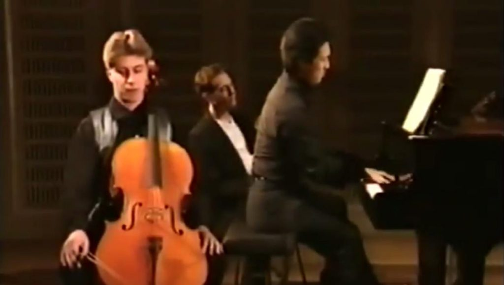 Hyung-ki Joo and Thomas Carroll play Rachmaninoff Cello Sonata 3rd Mvmt
